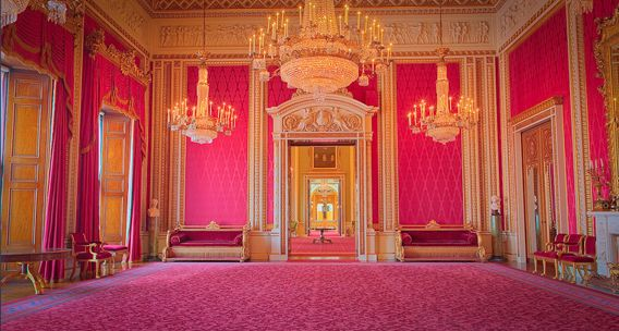 Buckingham Palace - The Throne Room by Will Pearson