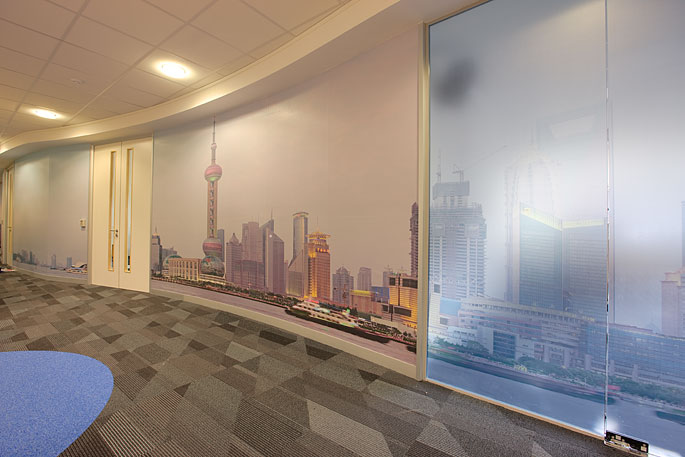 Shanghai skyline panorama in situ 3 by Will Pearson. All rights reserved