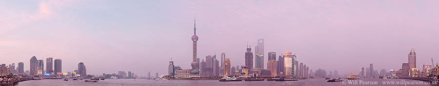 The Bund, Shanghai, China by Will Pearson. All rights reserved