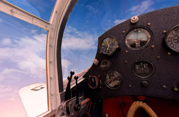 Mew Gull RAF Cockpit Virtual Tours