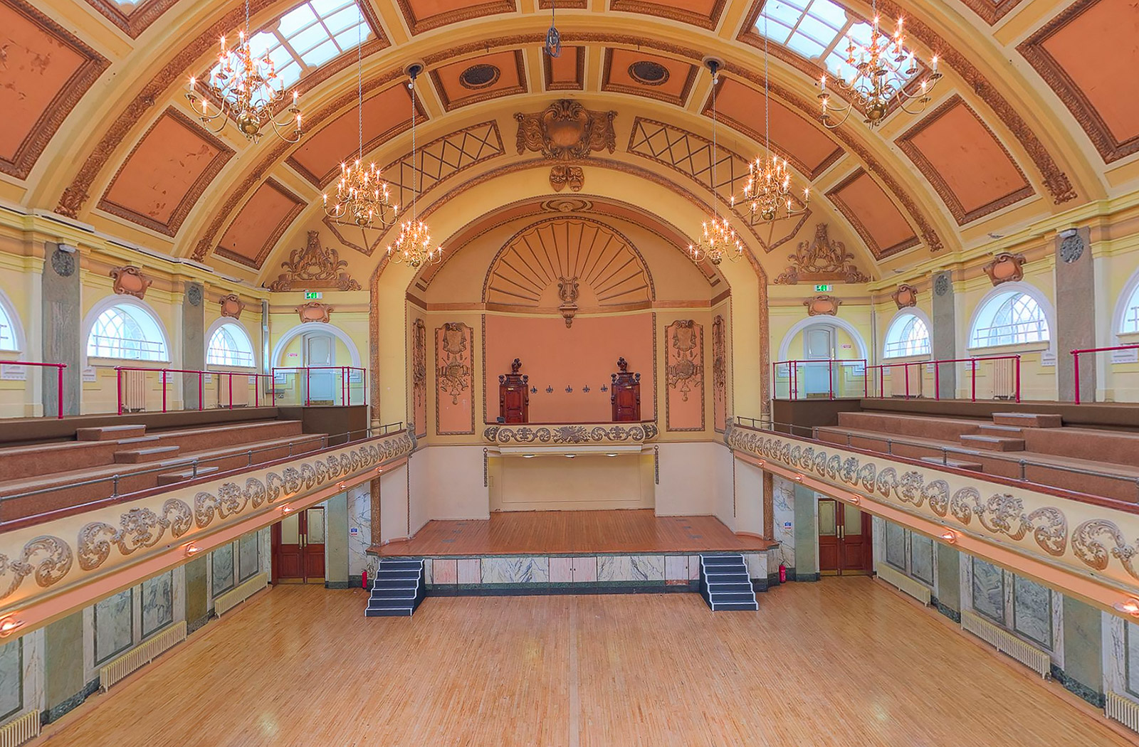 New virtual tours of Shoreditch Town Hall, London