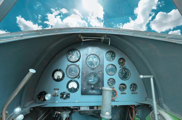 Get inside the Miles Mohawk Cockpit