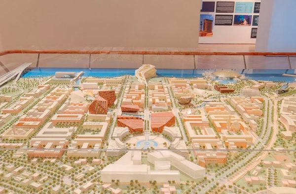 Saadiyat Island Cultural District Exhibition