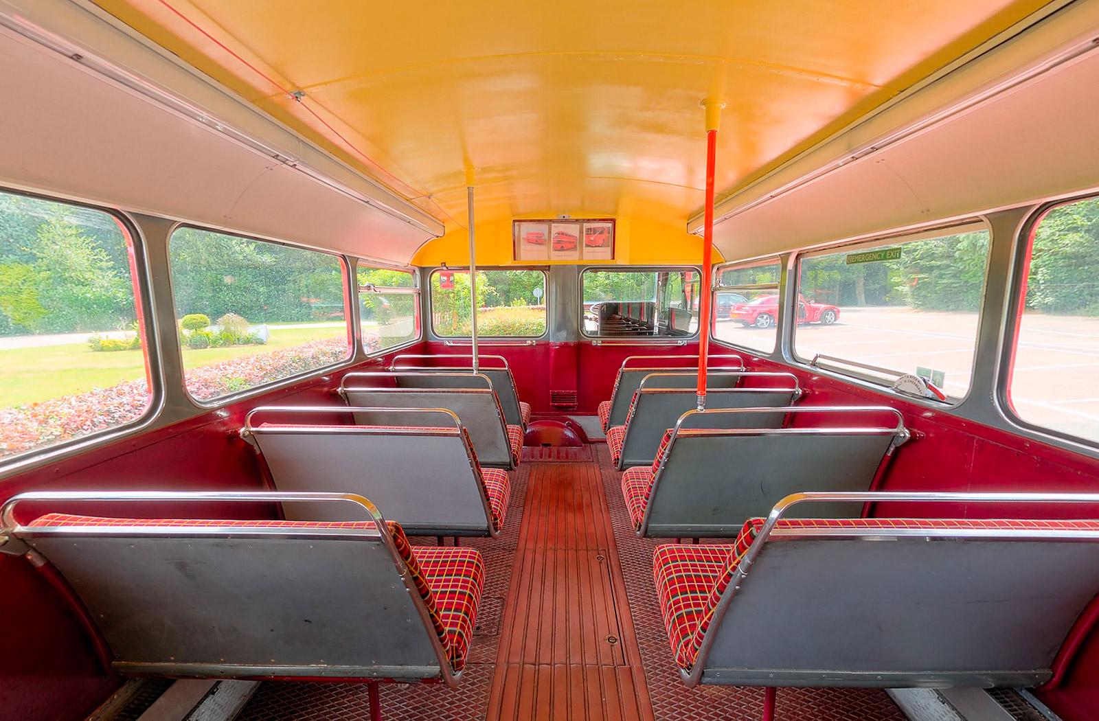 Routemaster Bus Virtual Tours