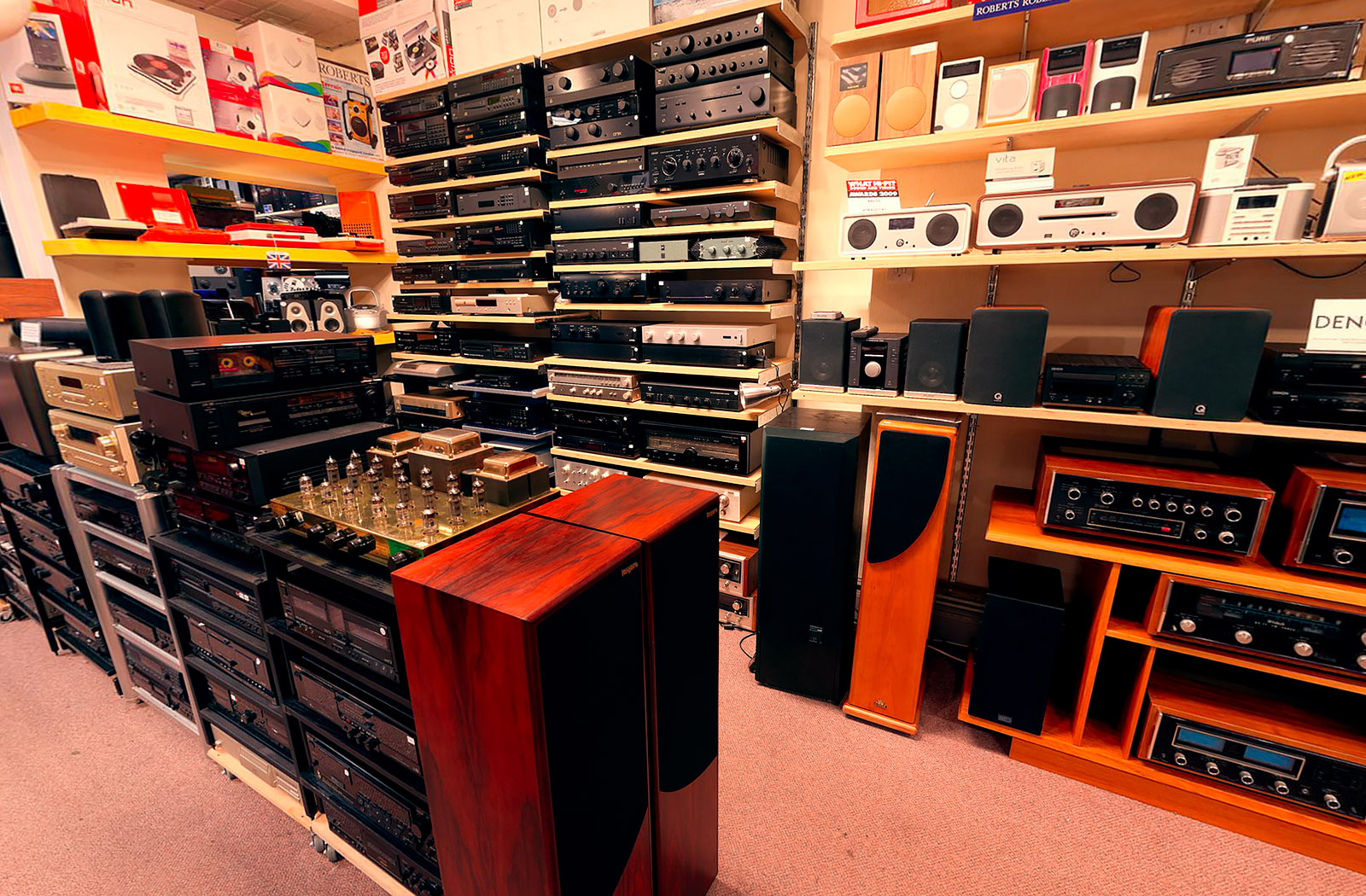 Surround sound and vision at Audio Gold
