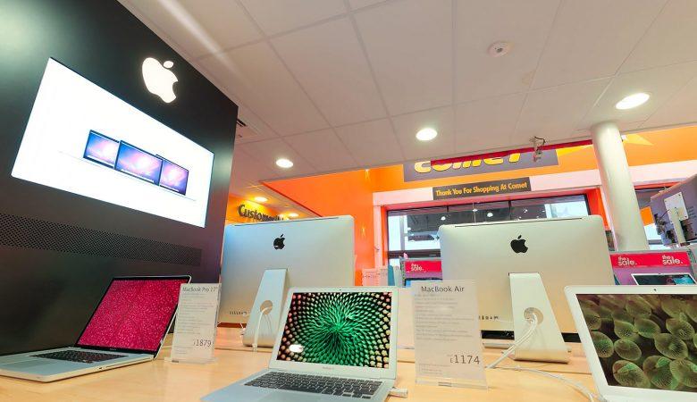 Apple Store Virtual Tour at Comet