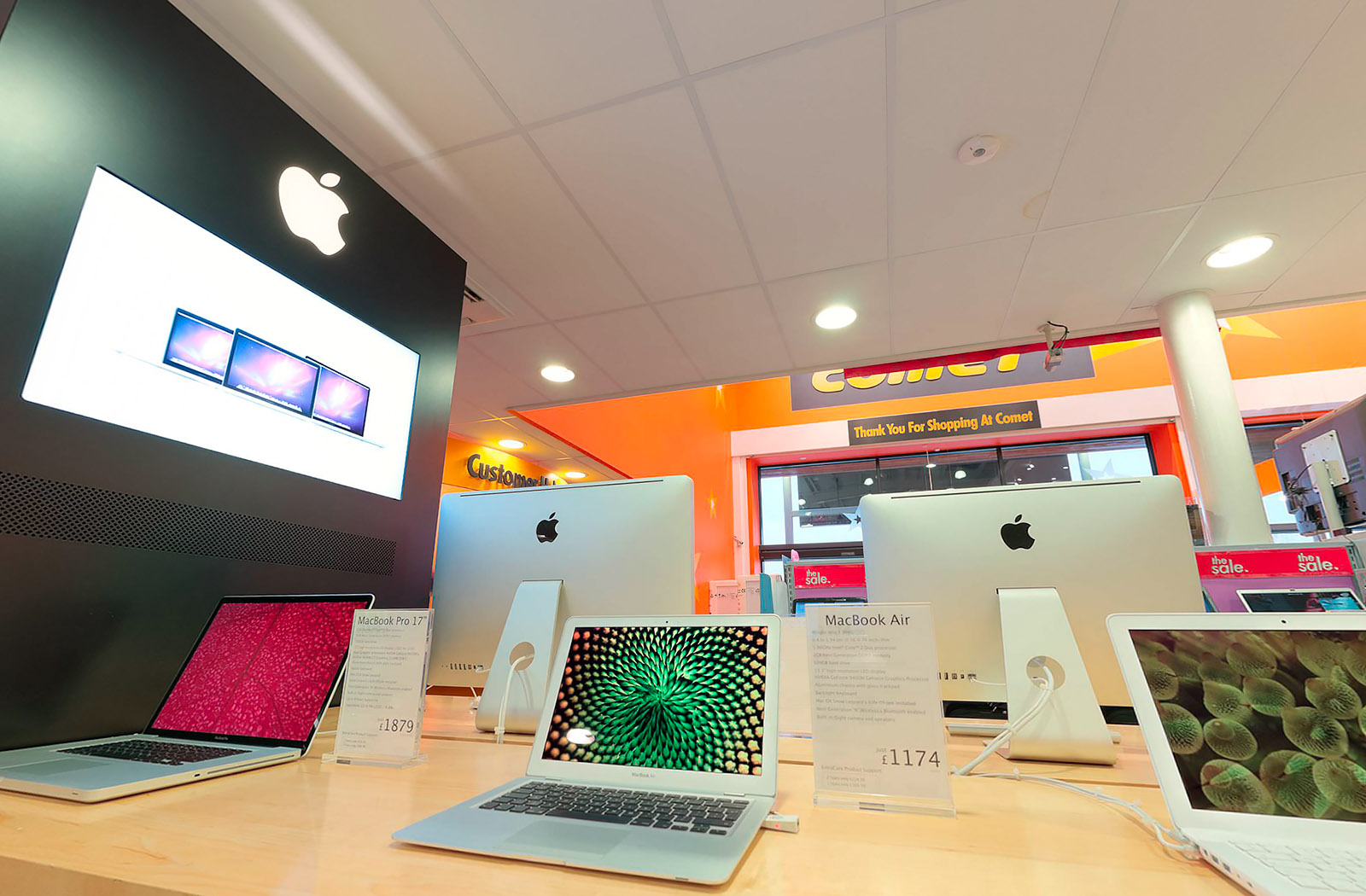 Apple Store Virtual Tour at Comet