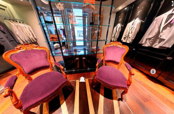 Savile Row Retail 360 Photography
