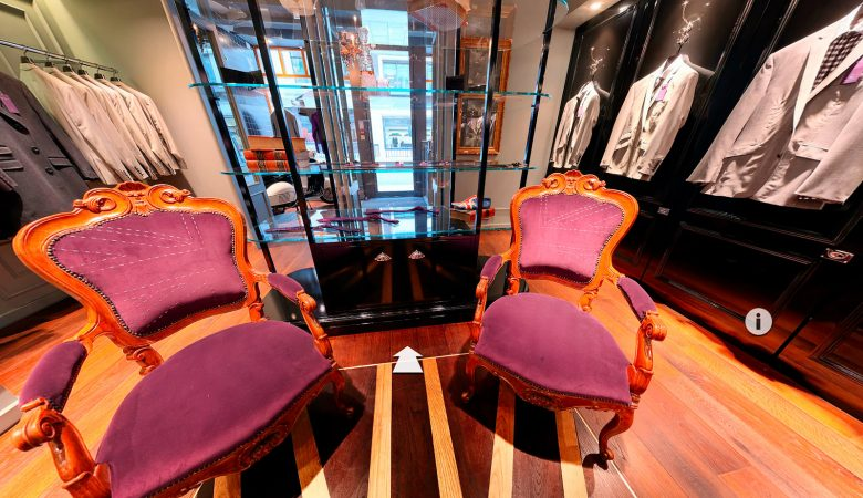 Savile Row Retail 360 Photography