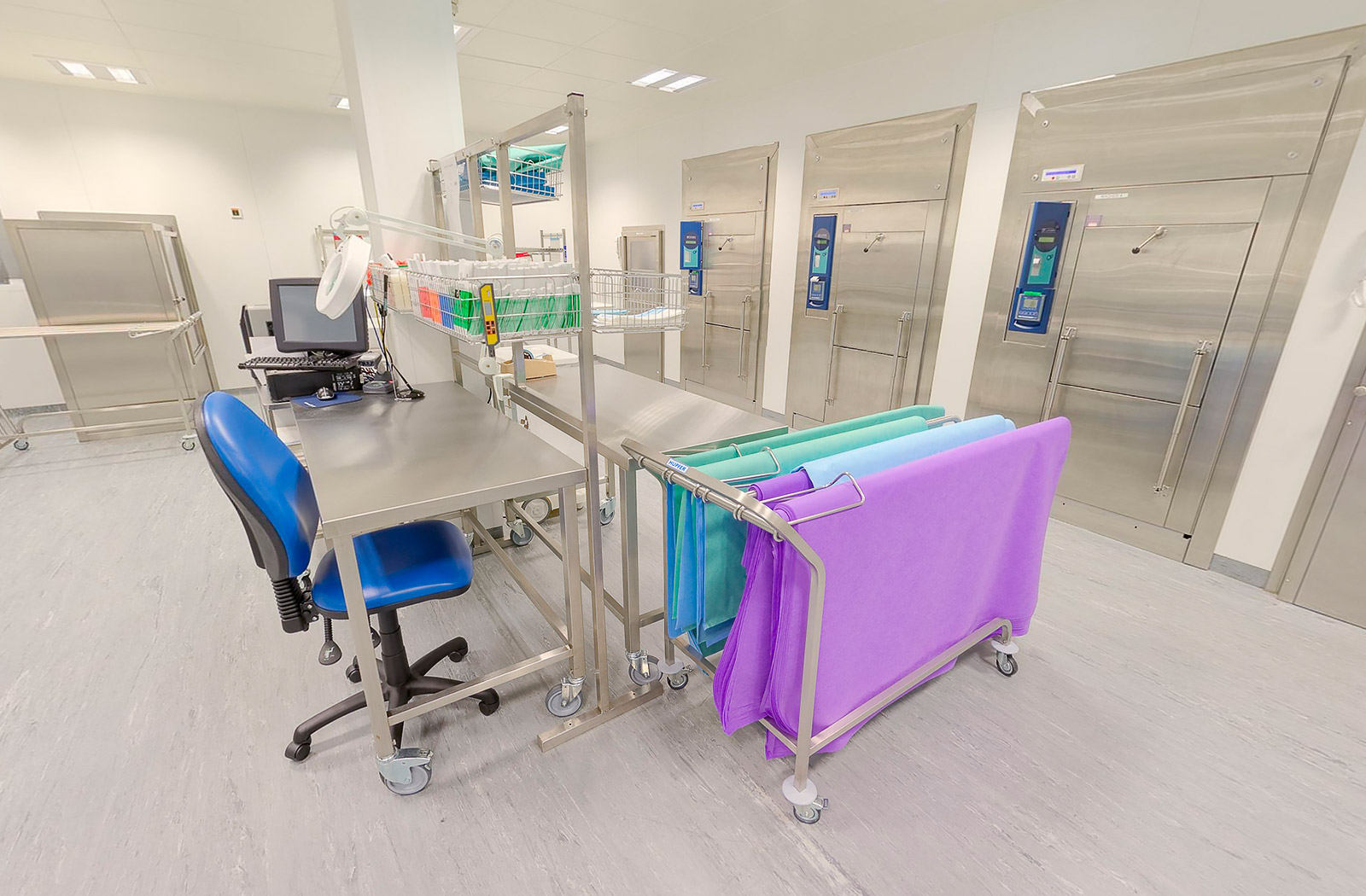 Clinical Sterile Services Department