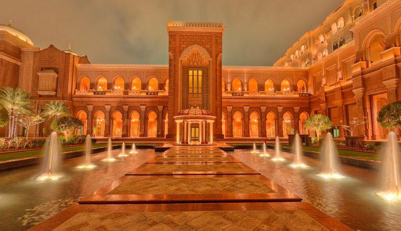 Emirates Palace Abu Dhabi 360 Photography