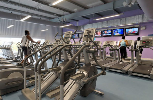 Fitness First 360 Photography