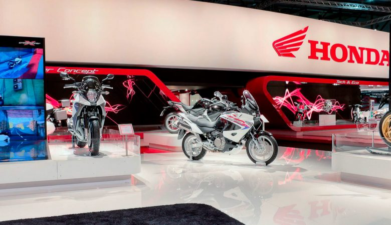 Honda Virtual Tours at the Eicma Motorbike Show Milan 2010