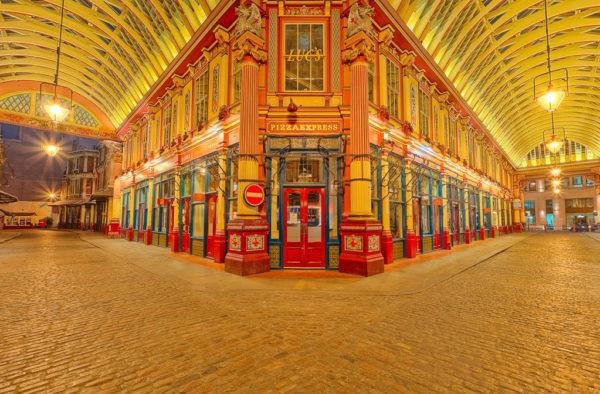 Leadenhall Market 360 Photography