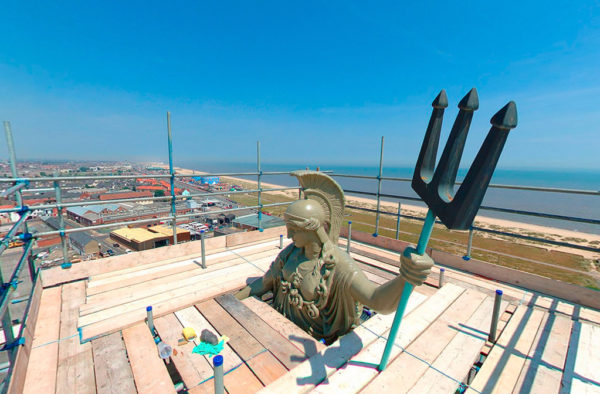 Britannia Monument Great Yarmouth 360 Photography