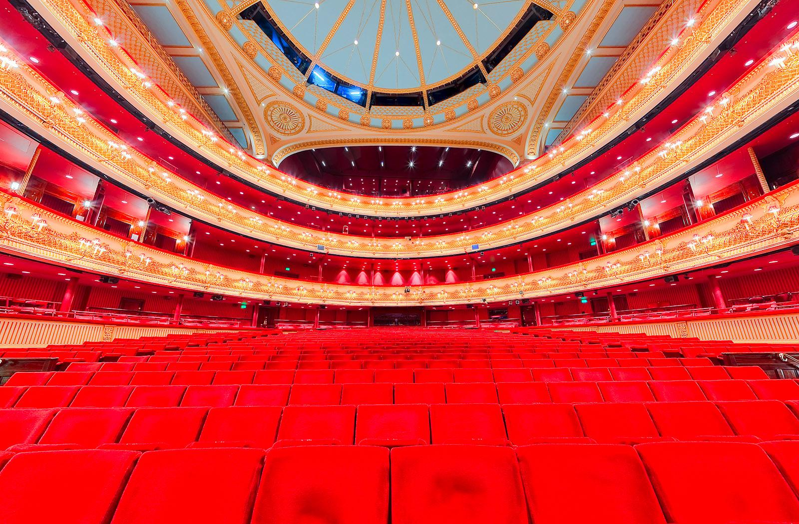 The Royal Opera House Virtual Tours 360 Theatre Virtual