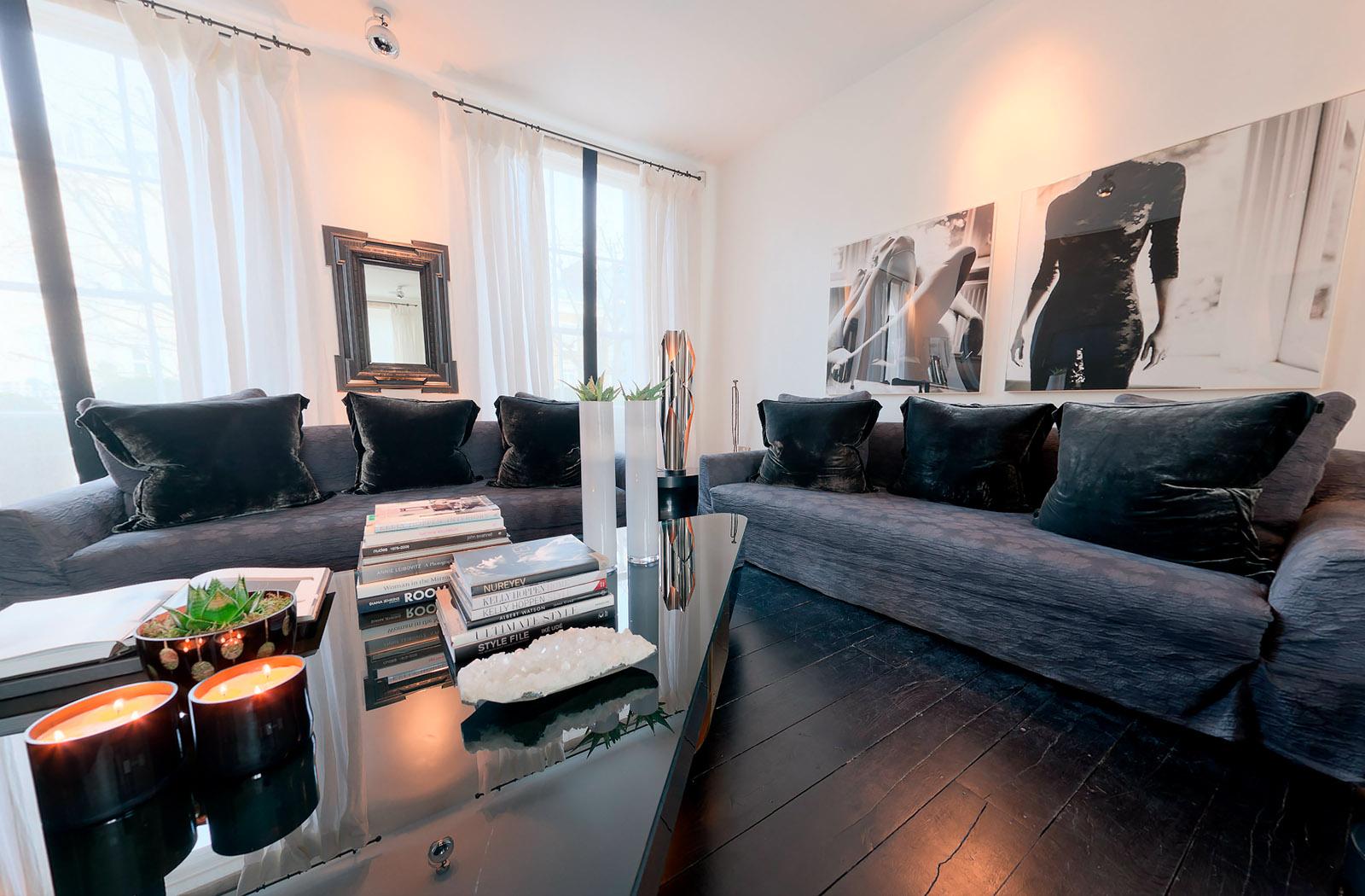 Kelly hoppen house notting hill for Kelly w interior designer