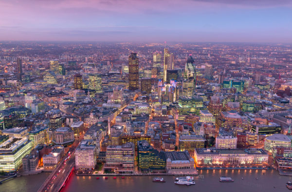 360 View from The Shard London Bridge