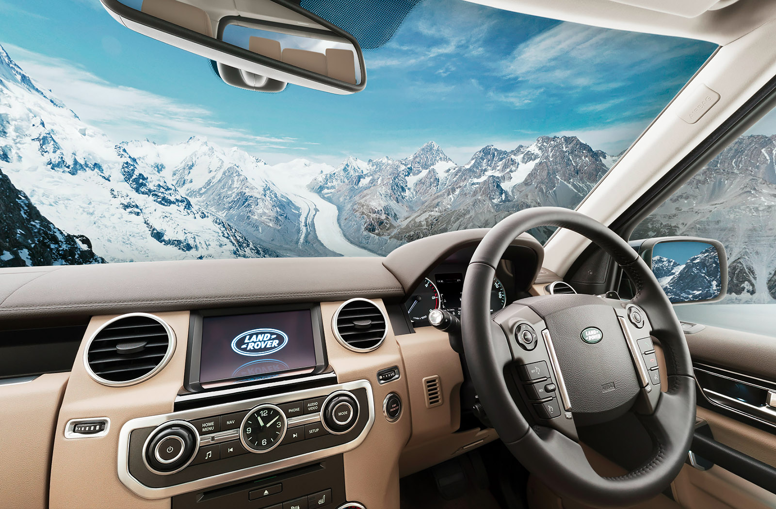 interactive car virtual tour land rover discovery 4 car interior 360. Black Bedroom Furniture Sets. Home Design Ideas