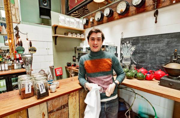 Mr Porter Brunswick House Cafe 360 Environmental Portrait