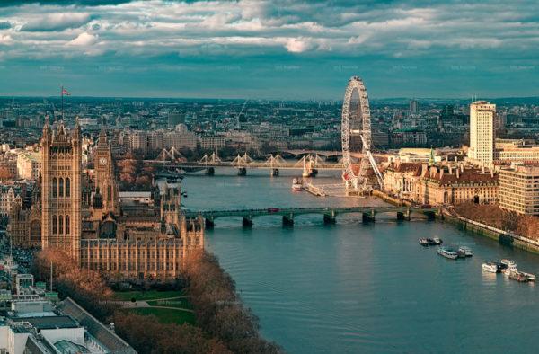 360 Aerial Panorama London