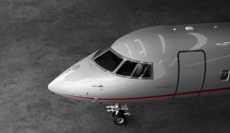 vistajet private jet virtual tour photography