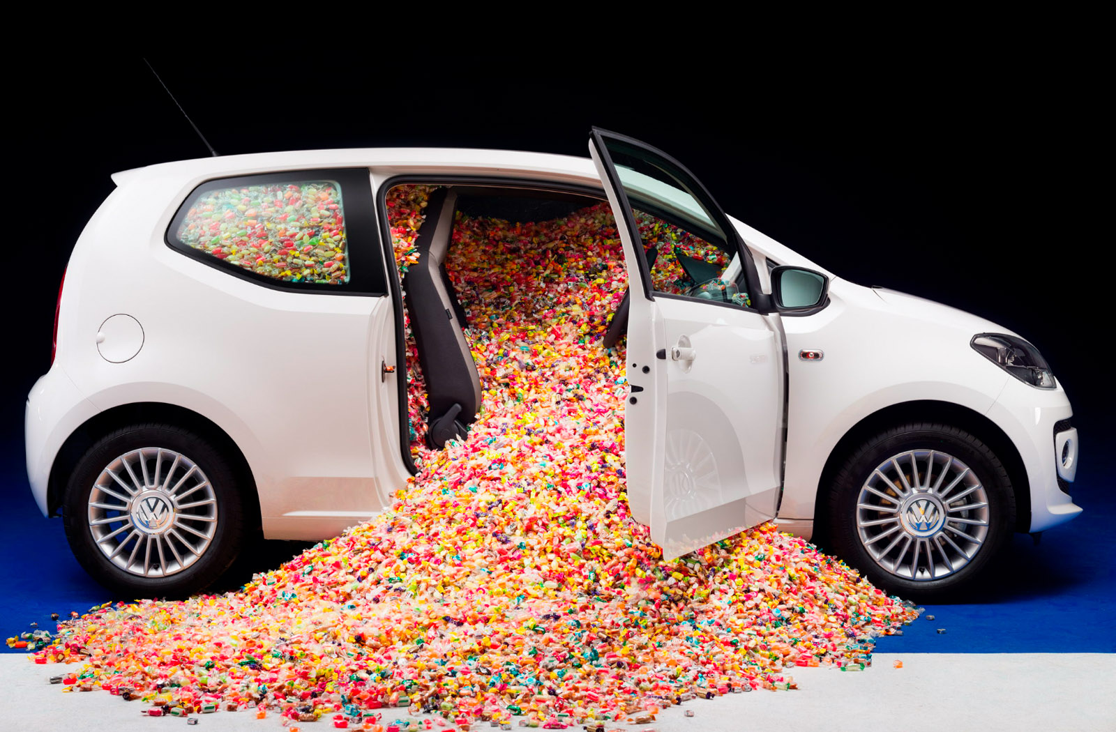 Volkswagen Up! Full of Sweets
