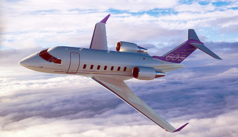 Bombardier Challenger 605 - 360 Photography