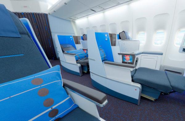 KLM New World Business Class