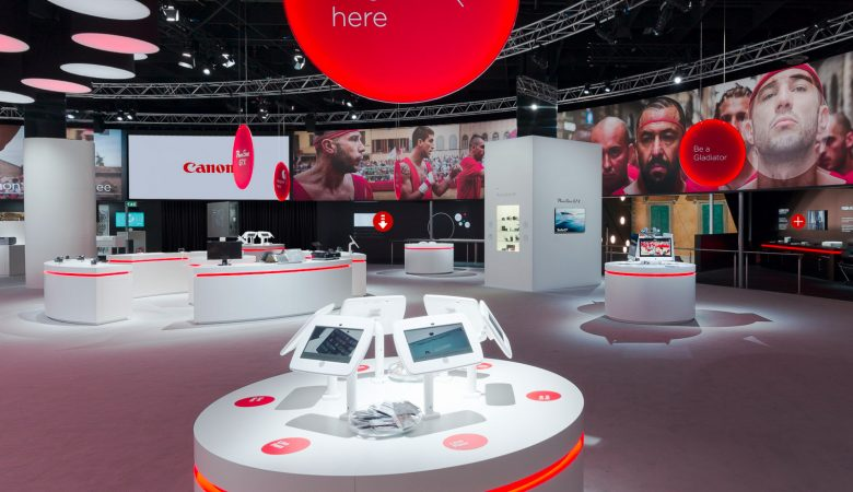 Canon Stand Virtual Tour at Photokina 2014