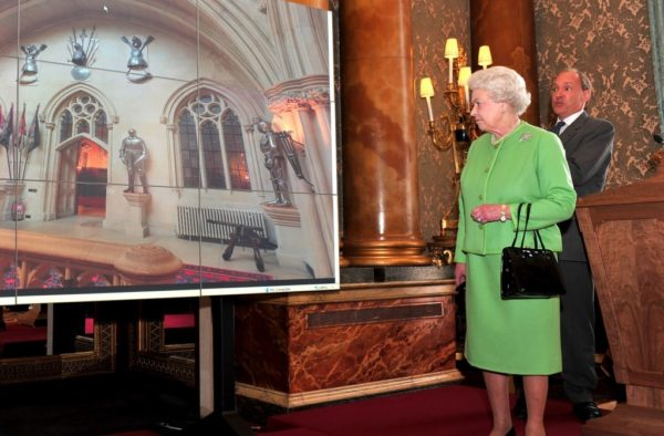 The Royal Household Virtual Tours. The Queen and Tim Berners