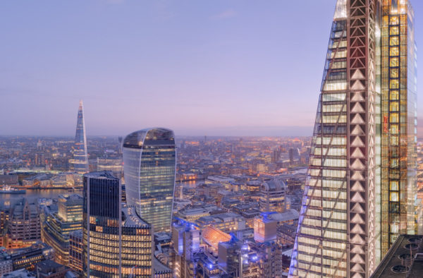 30 St Mary Axe View - Aerial 360