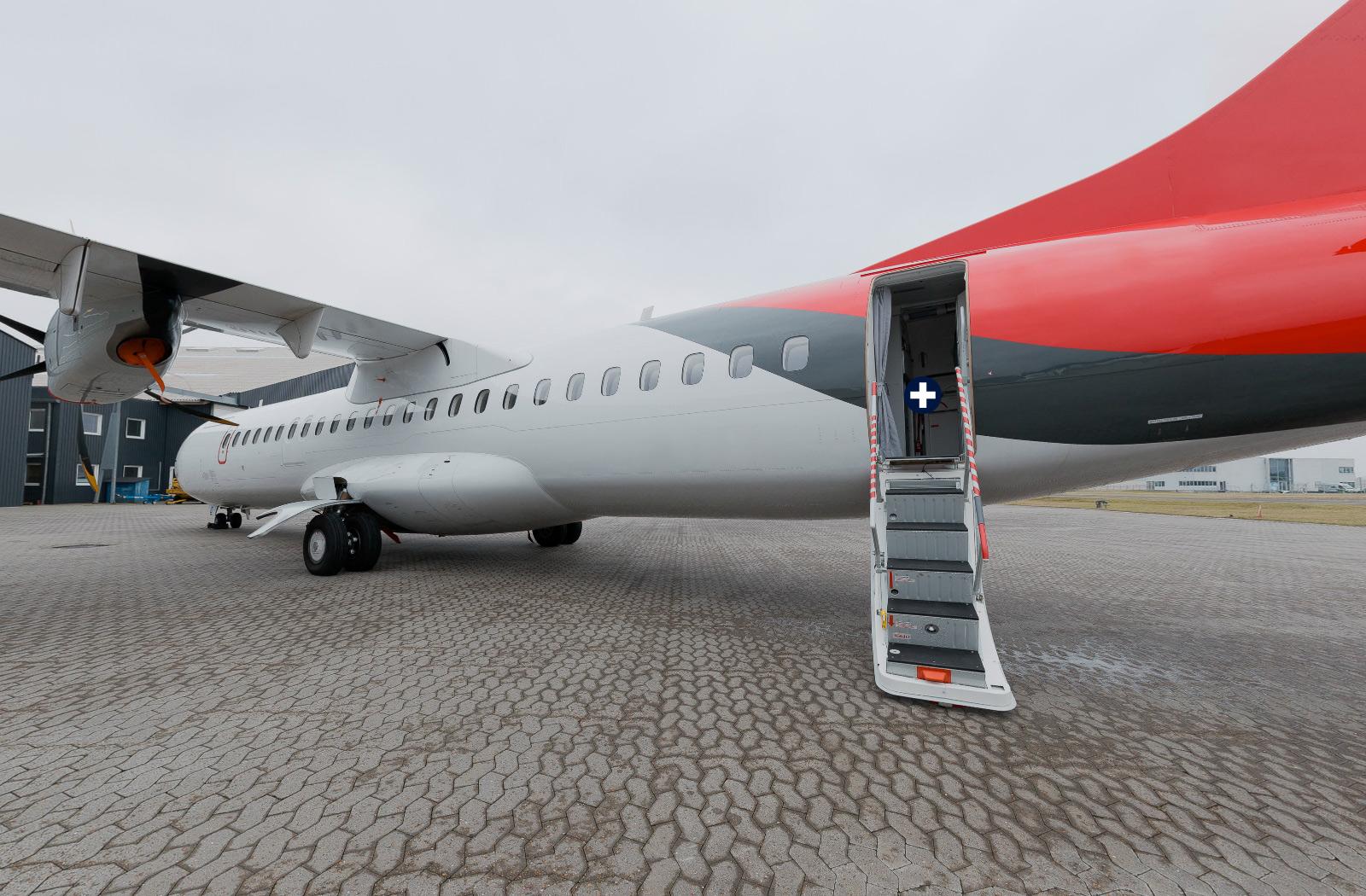 ATR 72-600 Interactive 360 Photography