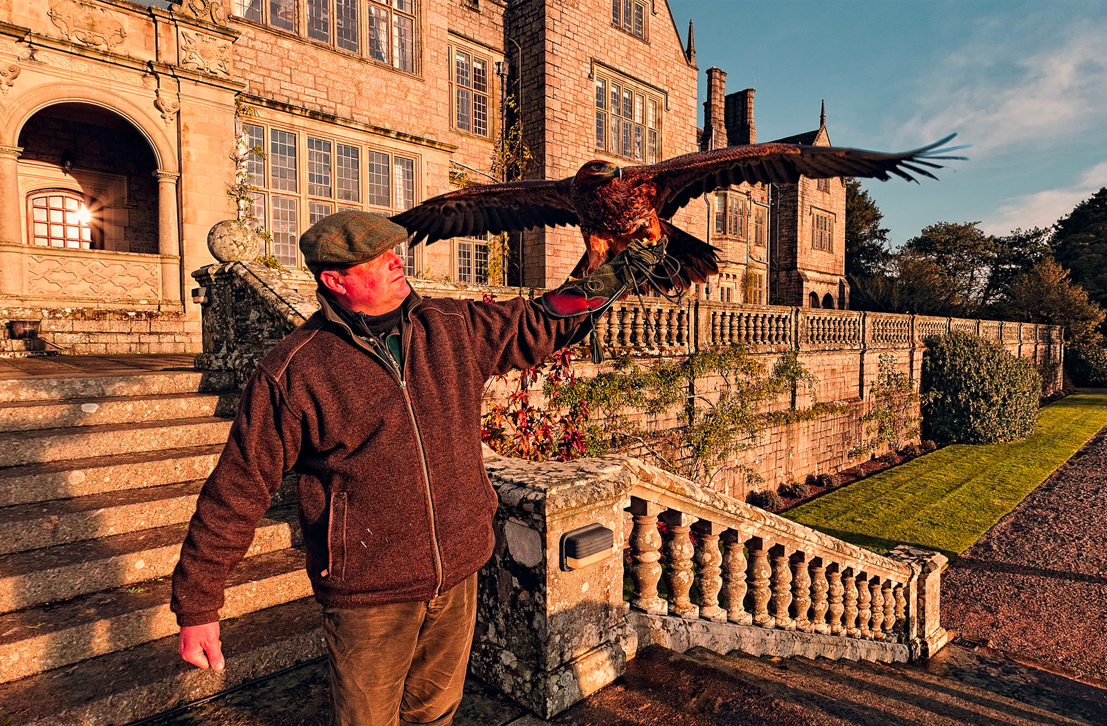 Bovey Castle 360 Photography - Artemis the Eagle