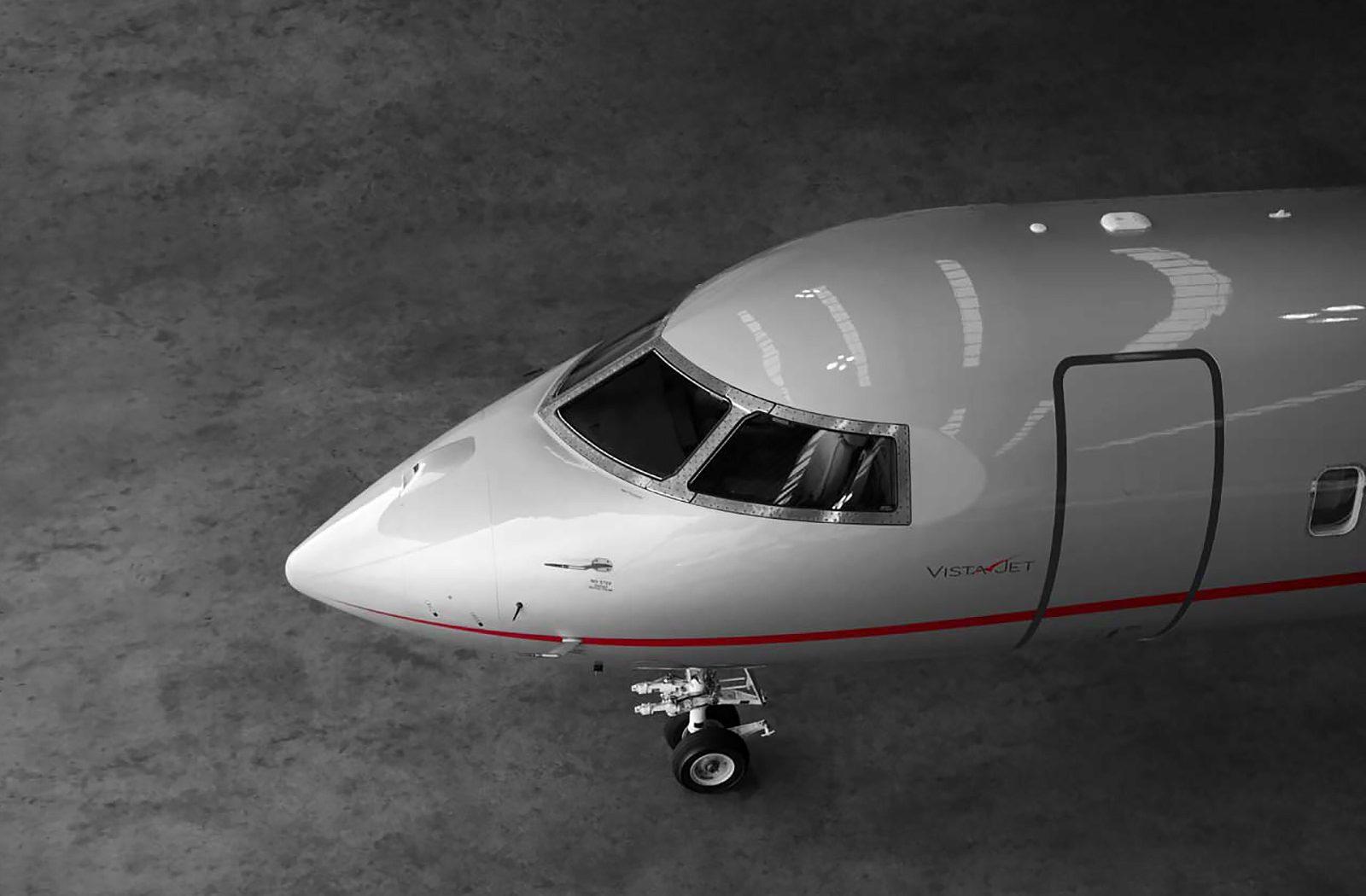 Bombardier Global 6000 Virtual Reality