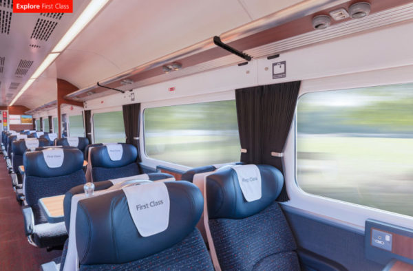 Abellio Train 360s - Greater Anglia Rebrand