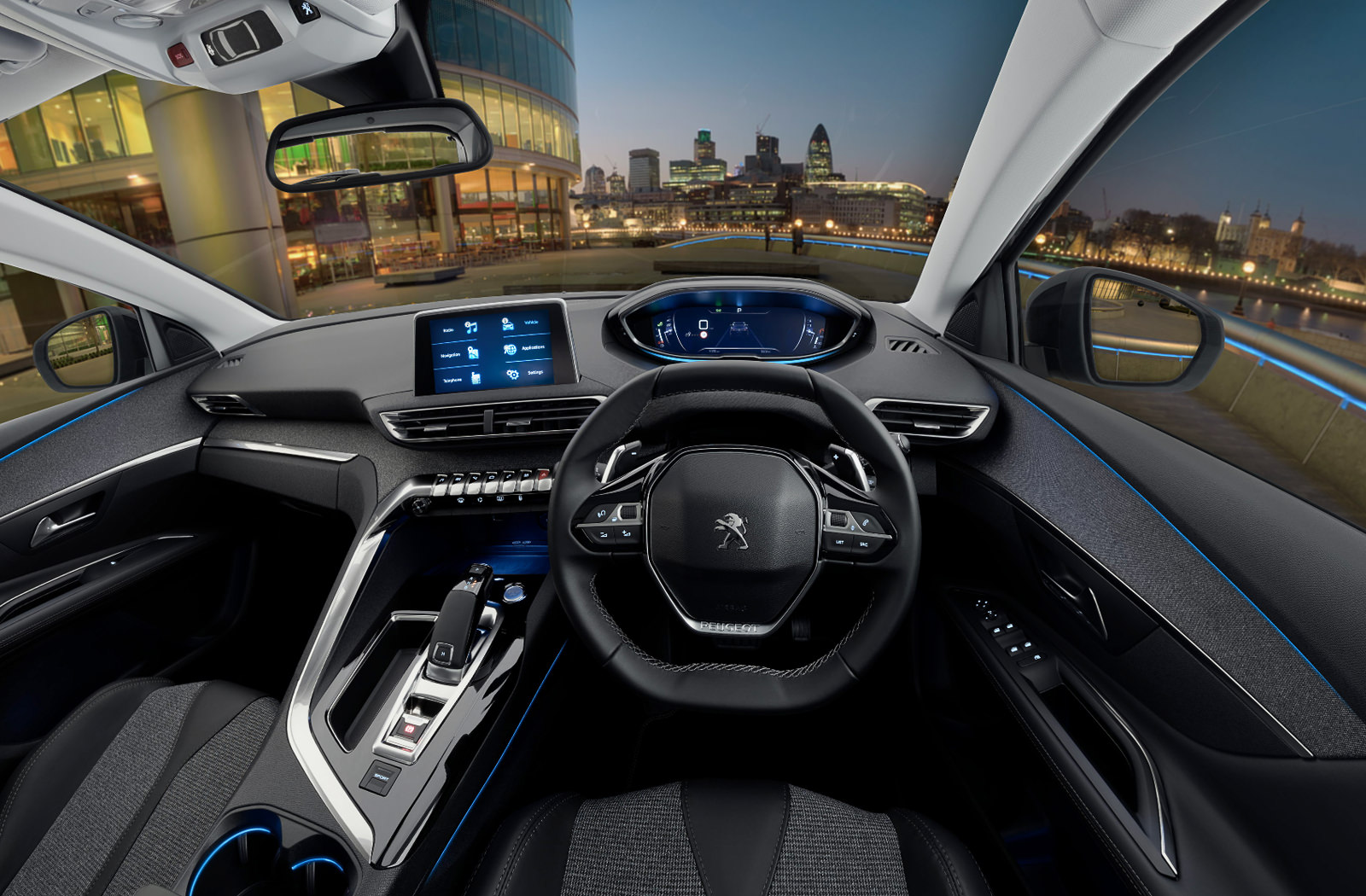 360 Car Interior – Peugeot's New 3008 SUV Crossover