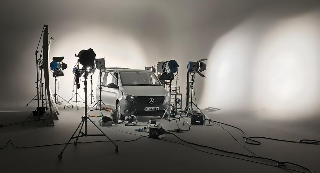 shooting 360's in a car studio