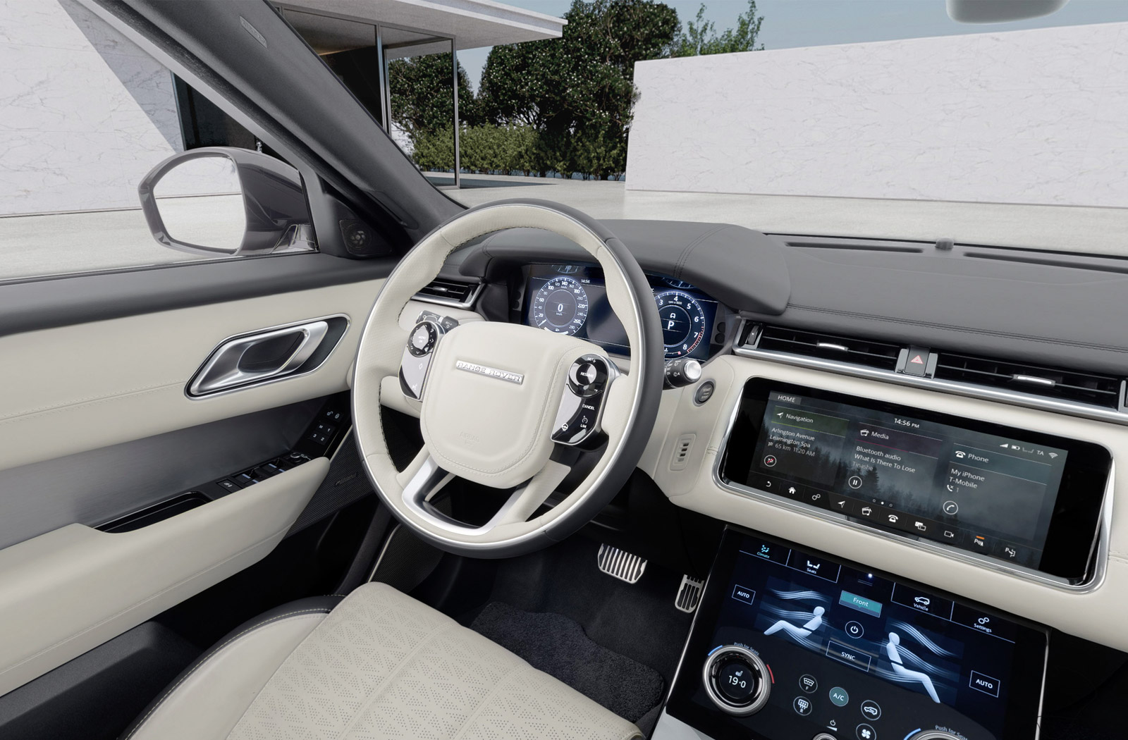 car virtual reality range rover velar interior 360 photography. Black Bedroom Furniture Sets. Home Design Ideas