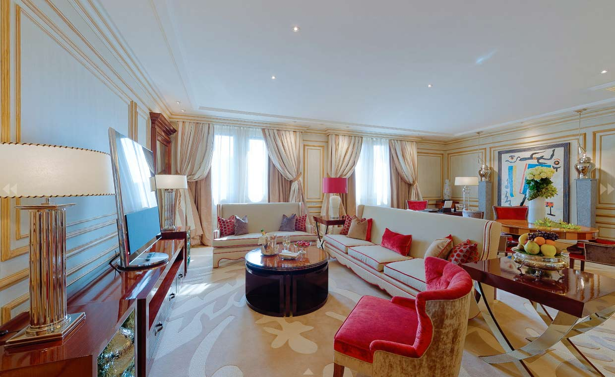 Dorchester Collection Milan - Hotel 360 Photography
