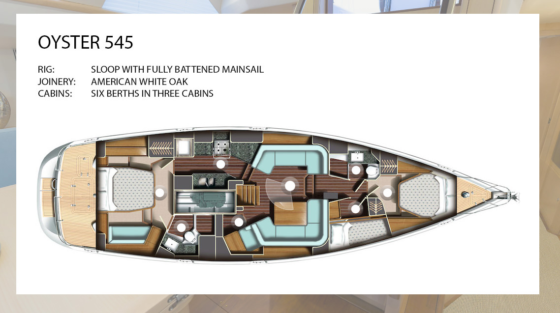 Oyster 545 Yacht 360