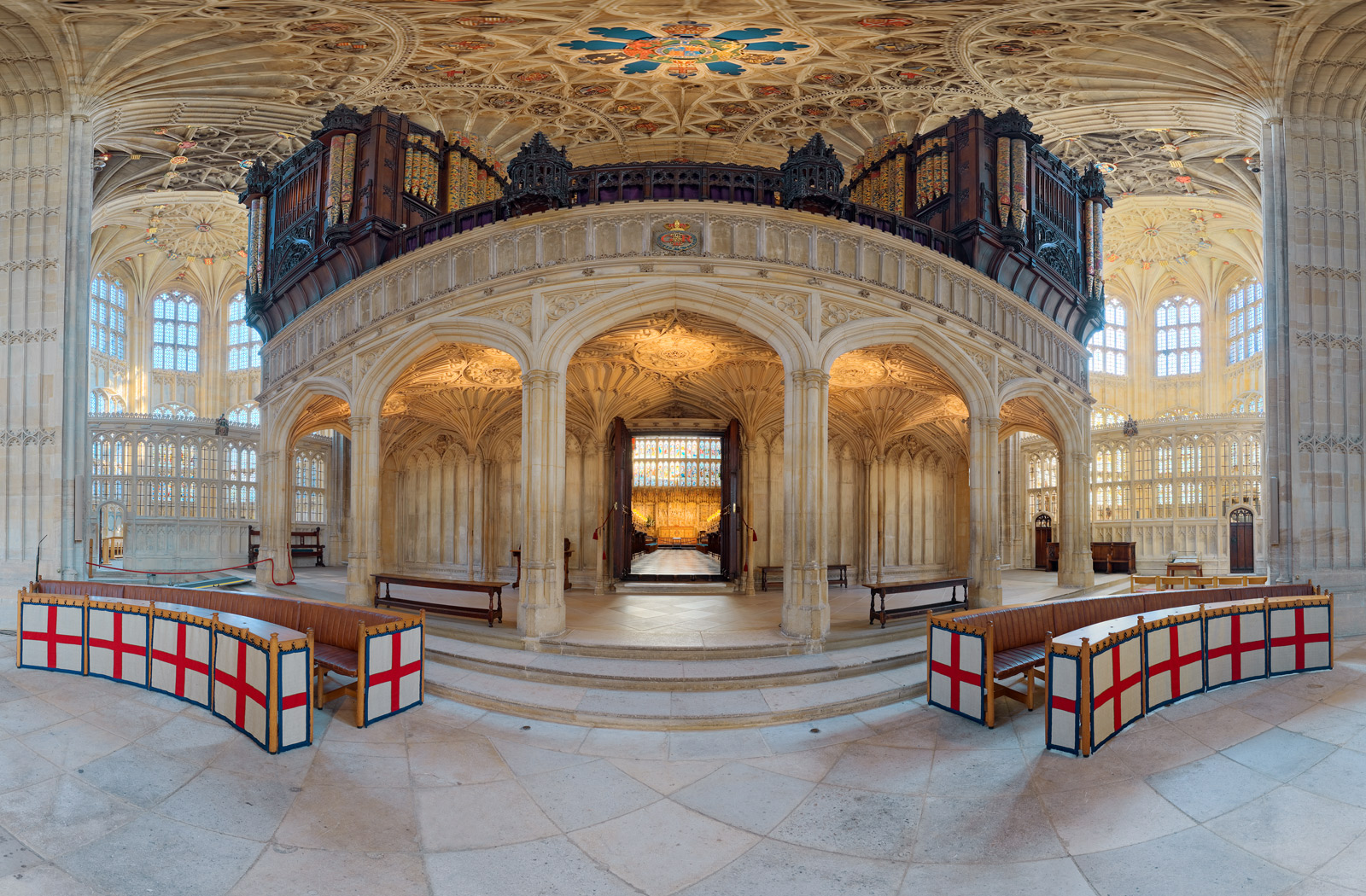 St George's Chapel Windsor 360 Photography