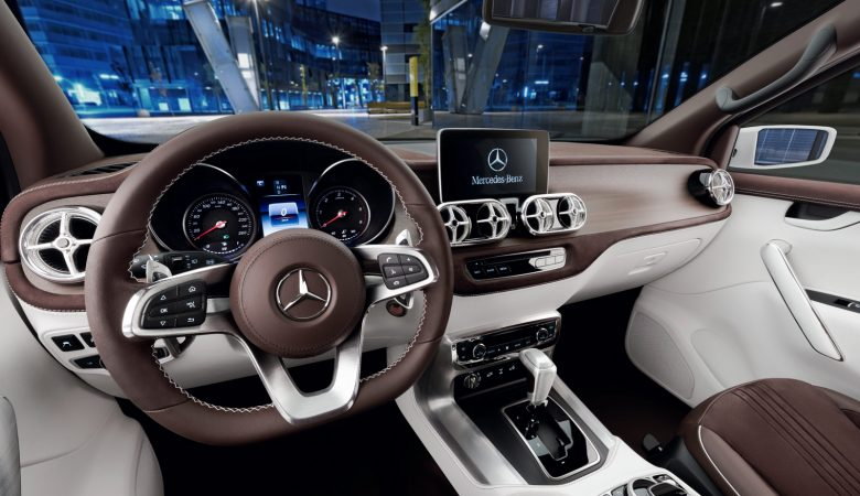 Car Photography - Interior 360 of the Mercedes-Benz X-Class