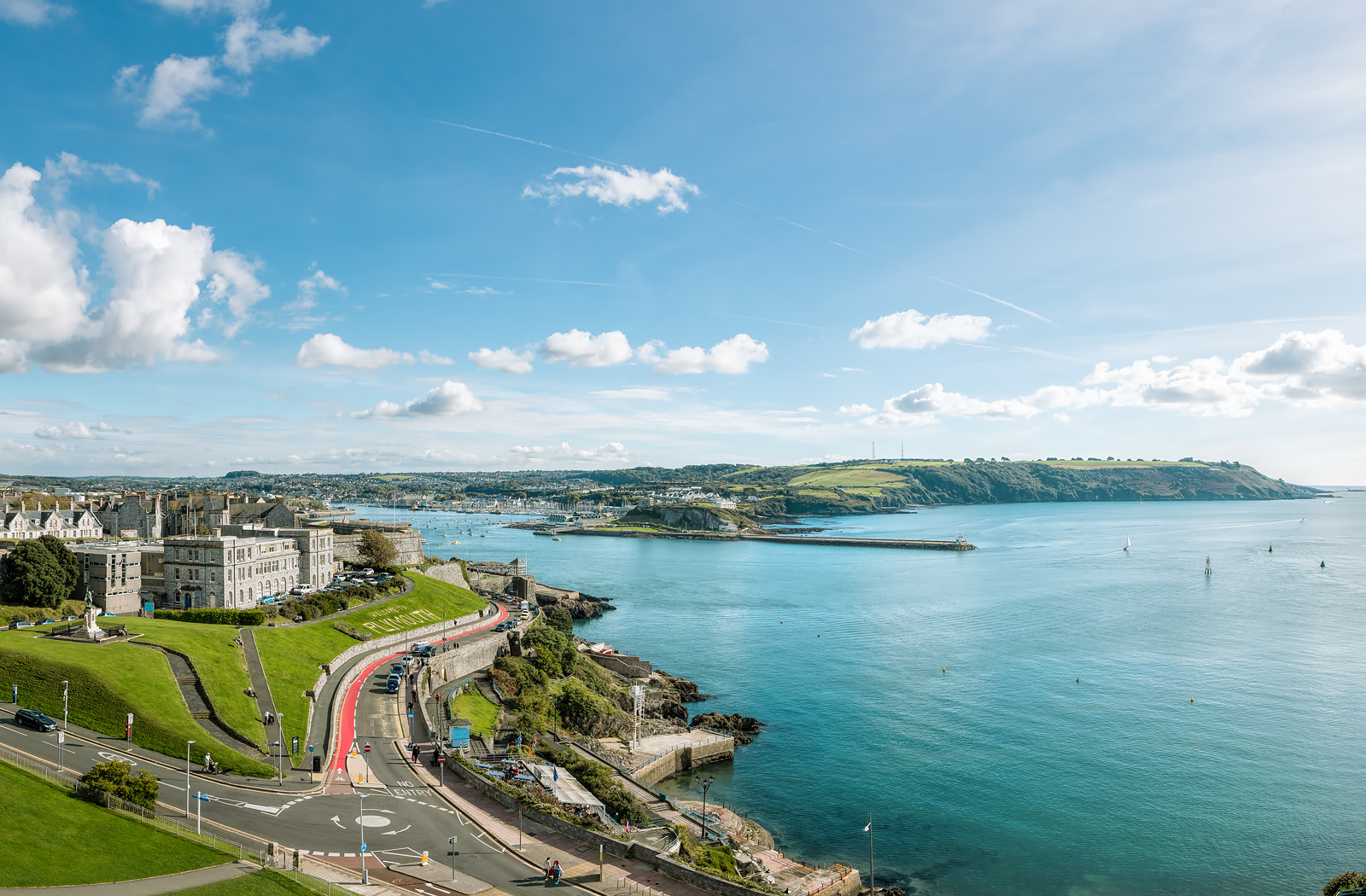 Smeaton's Tower, Plymouth | Aerial Virtual Tours