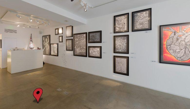 Exhibition 360 tours: Soho Art Gallery Virtual Tours