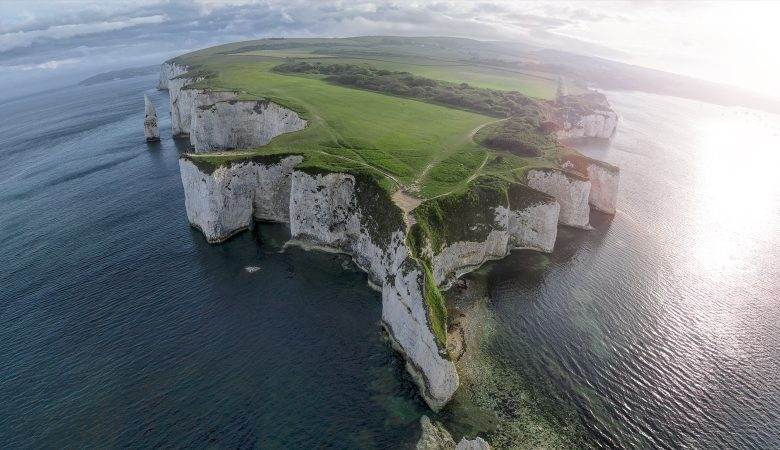 Dorset 360s Old Harry Rocks Aerial 360 Photography