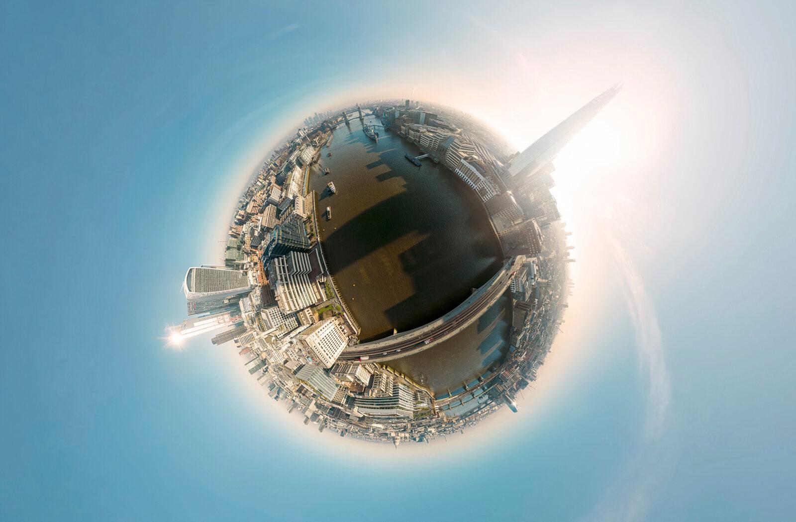 London Bridge 360 Aerial virtual tour