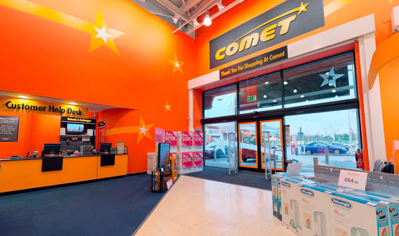 Comet Apple Store by Eye Revolution 2010 - All Rights Reserved
