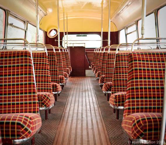 Routemaster Bus Seats © Eye Revolution 2009
